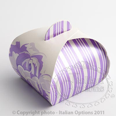 lilac rose tortina favour box