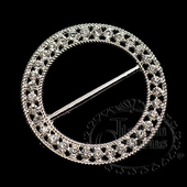 10 diamante round extra large chair sash buckle