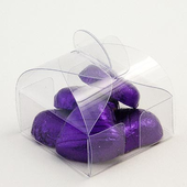 clear Astucci Pannier Wedding Favour Boxes