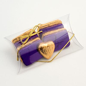 Clear Pillows /Pouches DIY Wedding Favour Boxes (S)