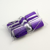 clear pillow / pouch favour box (L)