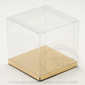 clear cube favour box 100mm
