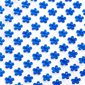 Royal blue - 6mm self adhesive daisy acrylic flower