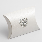 Pearl sphere pillow favour box
